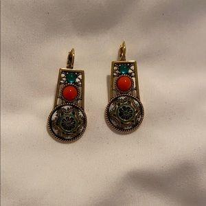 Vintage Mosaic Earrings
